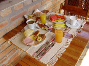 Café da Manhã na Pousada Mareilha