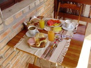 Pousada Mareilha - café da manhã