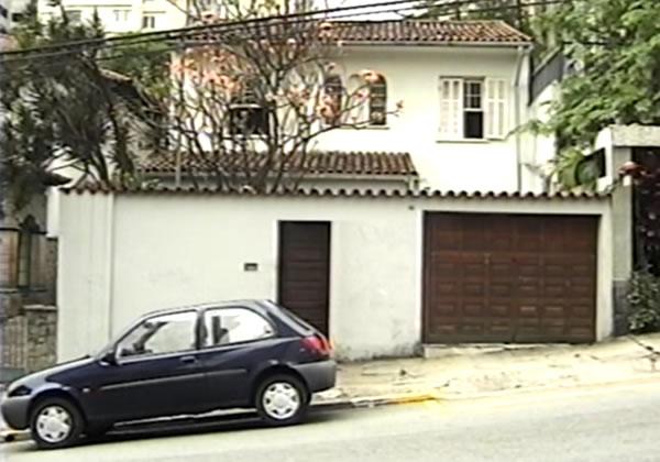 A casa da rua João Moura
